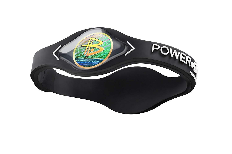 Power Balance Silicone Wristband Black/White Medium