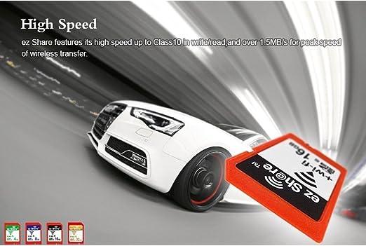 Ez Share Wifi Sd Memory Card 8 Gb Class 10 New New Inc Camera Photo