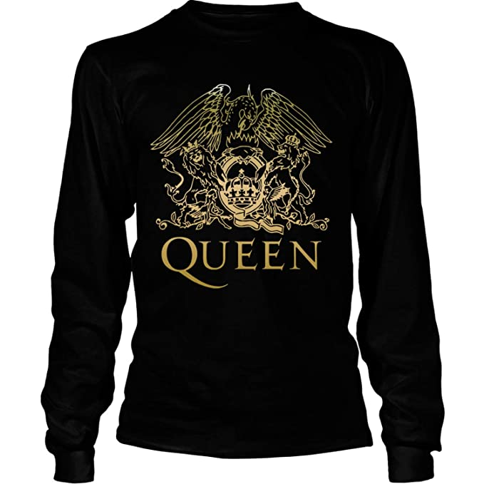 8d1234ab6 Amazon.com: Queen - band T Shirt, Freddie Mercury Shirt, Queen -British rock  band - Long Sleeve Tees: Clothing