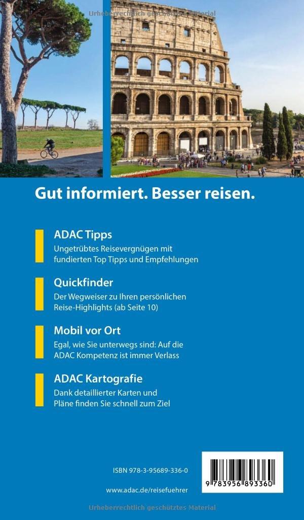Adac Reisefuhrer Rom Der Kompakte Mit Den Adac Top Tipps Und Cleveren Klappkarten Amazon De Noldeke Renate Bucher