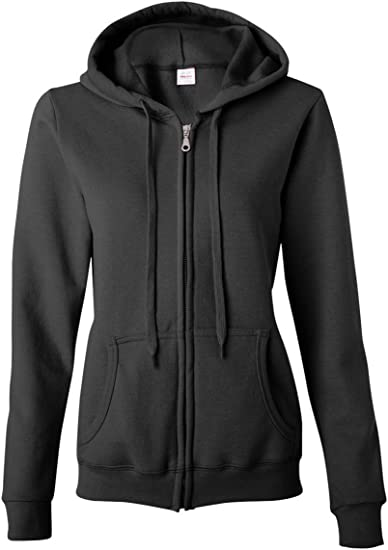 Gildan Men/'s Plain Full Zip Zipped med Weight Hoodie Hooded Jacket