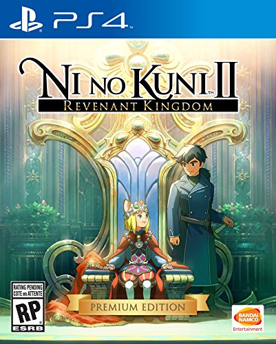Video Games : Ni No Kuni II: Revenant Kingdom - PlayStation 4 Premium Edition