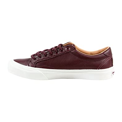 vans leather laces mens