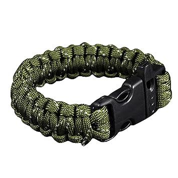 Notfall Überleben Paracord Armband Camping Wanderausrüstung