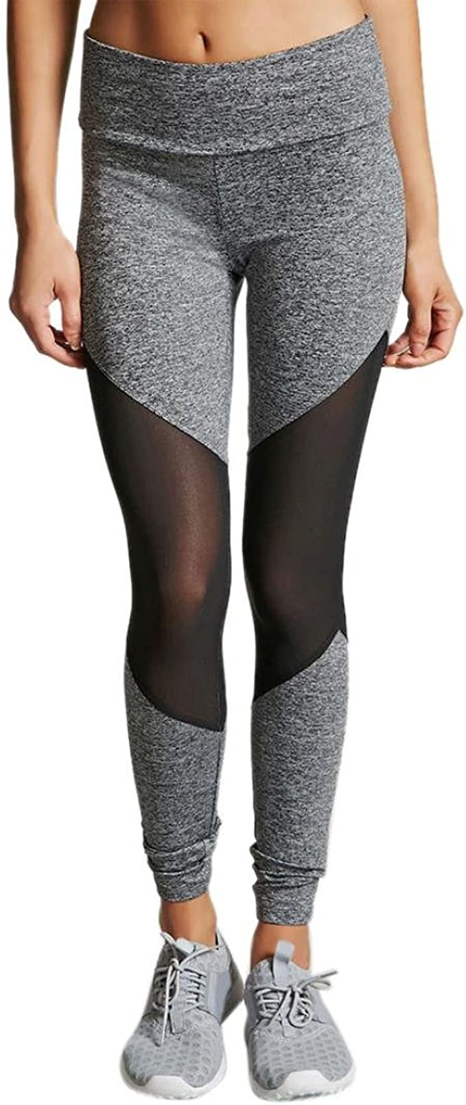 Women Yoga Pants High Waist Gym Sportswear Running Fitness Leggings Gym Trousers
