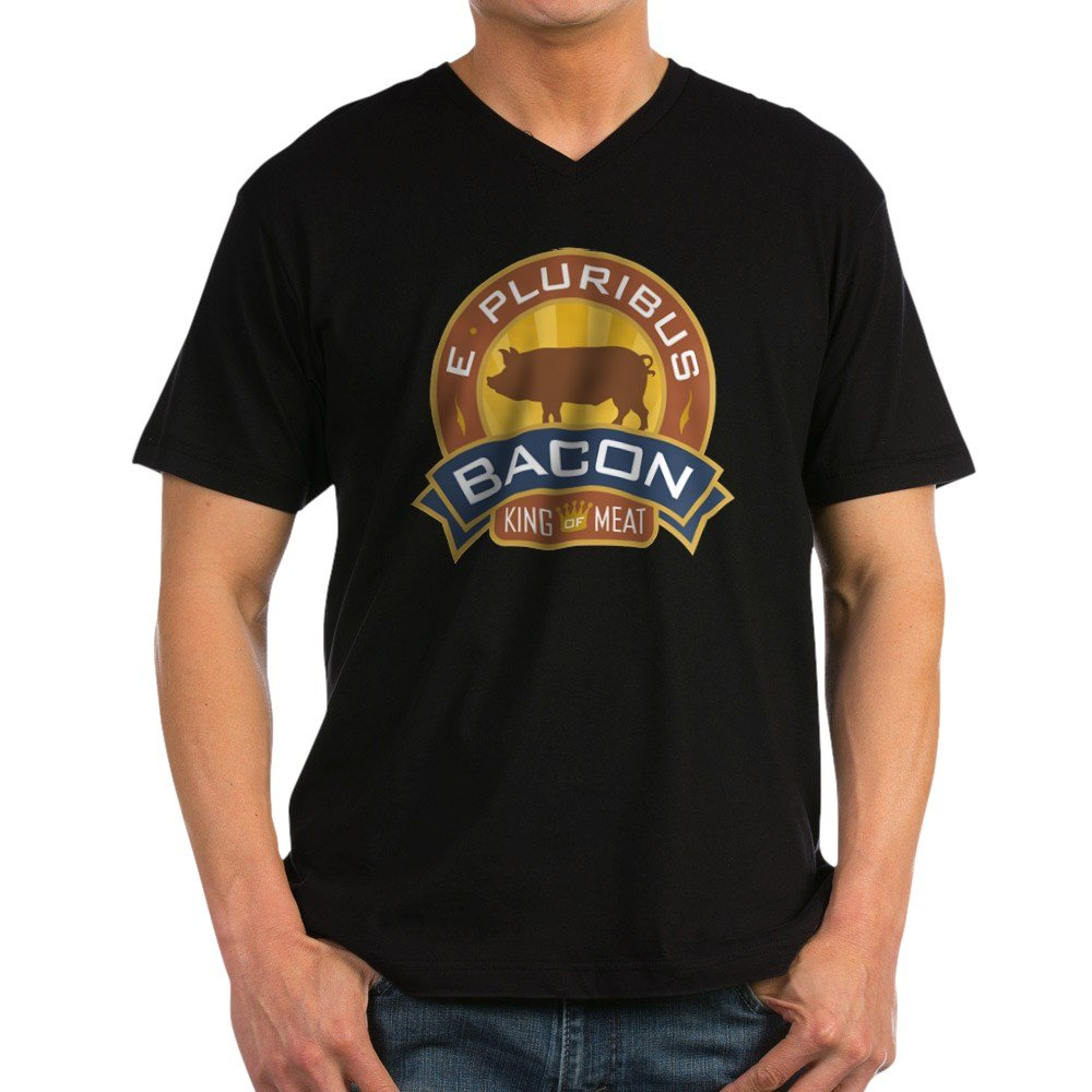 Royal Lion T Shirt Dark Foodie E Pluribus Bacon King Of Meat 4312