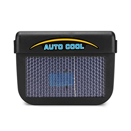Energía Solar Auto Coche Ventana Auto Aire Ventilación Ventilador Aire Ventilación Radiador Acondicionador con Sistema De
