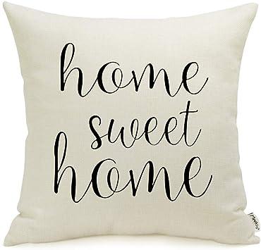 Amazon.com: Meekio Farmhouse - Funda de almohada decorativa ...