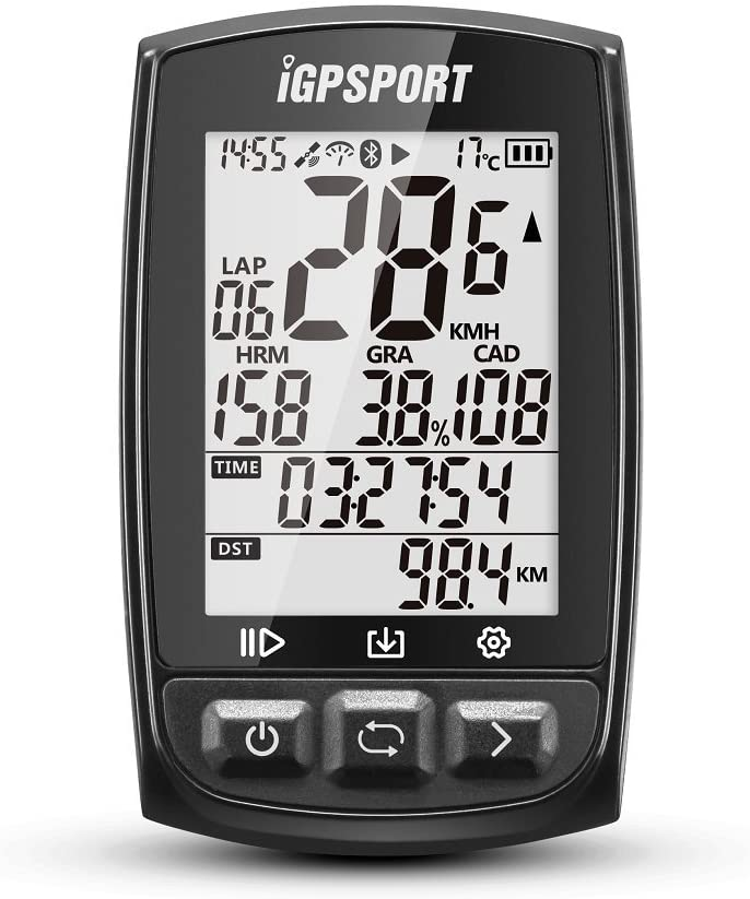 IGPSPORT GPS Bike Computer Big Screen with ANT Function iGS50E Wireless Cycle Computer Waterproof