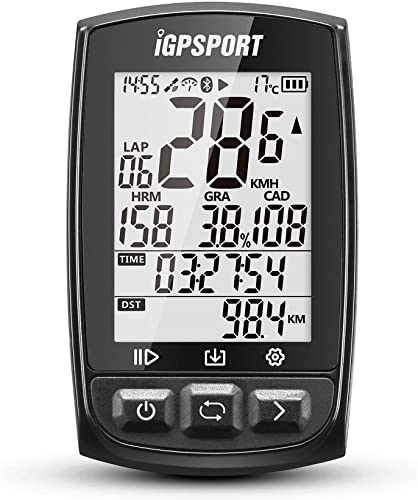 iGPSPORT GPS Bike Computer Big Screen with ANT+ Function iGS50E Wireless Cycle Computer Waterproof