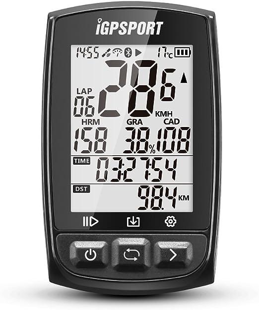 iGPSPORT Ciclocomputadores GPS iGS50E Computadora Bicicleta Inalámbrica Ciclismo Cuentakilometros Bici (Negro): Amazon.es: Deportes y aire libre