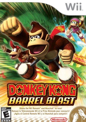Blast Wii - Donkey Kong: Barrel Blast - Nintendo Wii