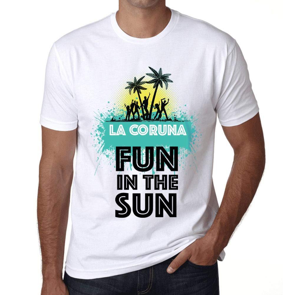 Ultrabasic Mens Graphic T-Shirt Summer Dance LA CORUNA ...