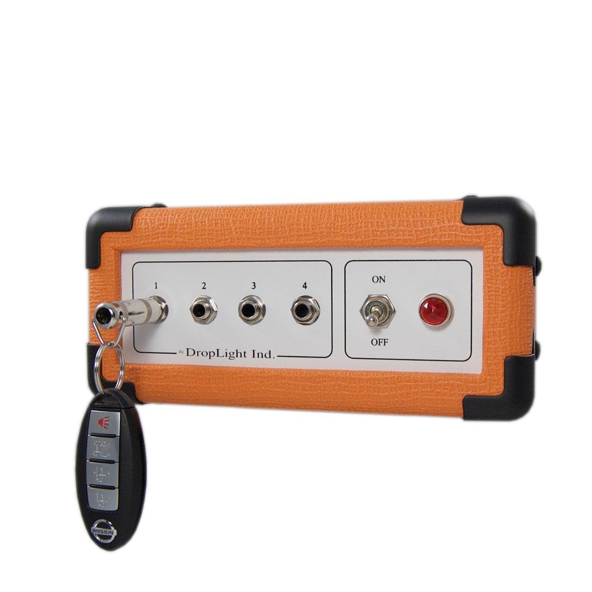 Wall Key Rack, Key Board - Orange Mini, Amp Inspired