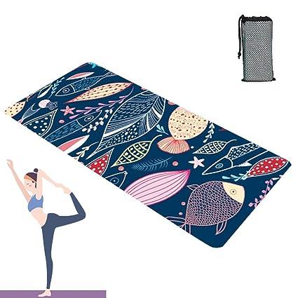 Grist CC Toalla Yoga Antideslizante y De Secado Rápido Yoga ...