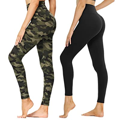 SYRINX Leggings for Women Buttery Soft High Waisted Tummy Control Pants for Yoga Workout Running
