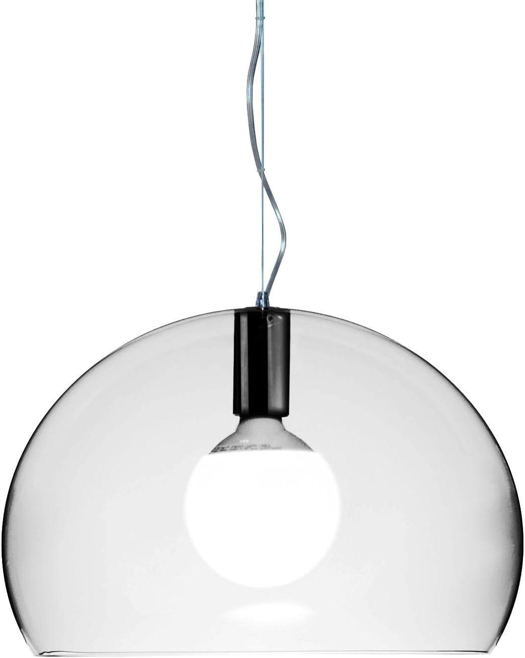 KARTELL Lampada A Sospensione LED Fl//Y Small Cristallo