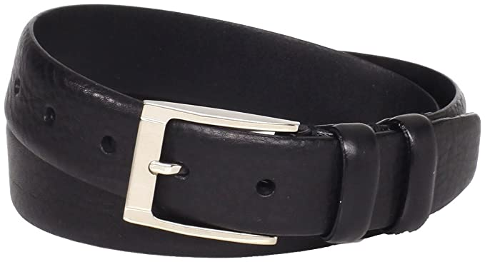 b9a9cb7ef47a Florsheim Men s Italian Full Grain Leather Feather Edge 32mm Belt at Amazon  Men s Clothing store  Apparel Belts