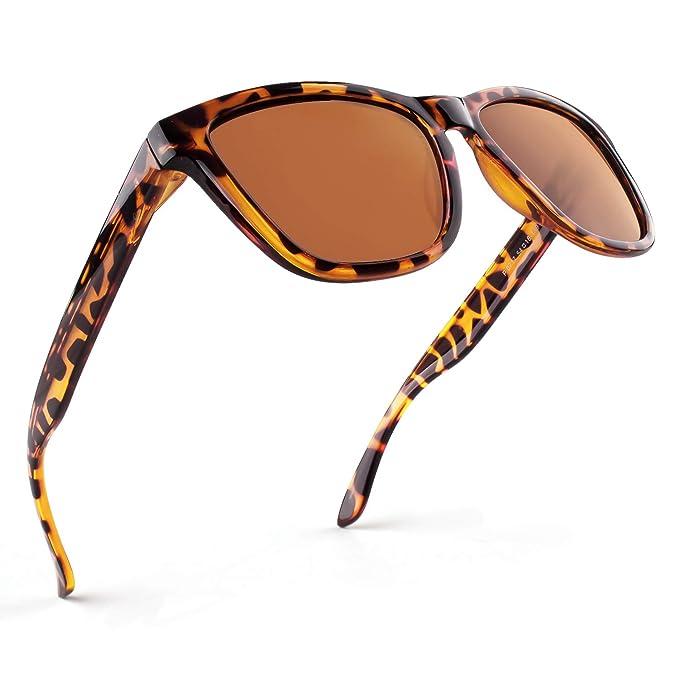 GQUEEN Gafas de Sol Polarizadas para Hombre y Mujer – Gafas Clásicas Unisex MS07