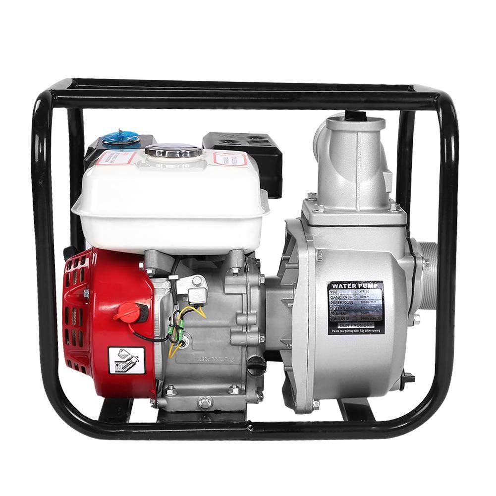 Yosoo 3-Inch Gas-Powered Water Transfer Pump 6.5HP 7m Garden Irrigation Swimming Pool Cleaning Pump by Yosoo