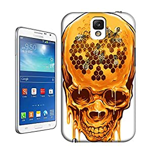 The Yellow Skull Hard Cover Case for Samsung Galaxy Note 3 Designed by Bradley's Shop