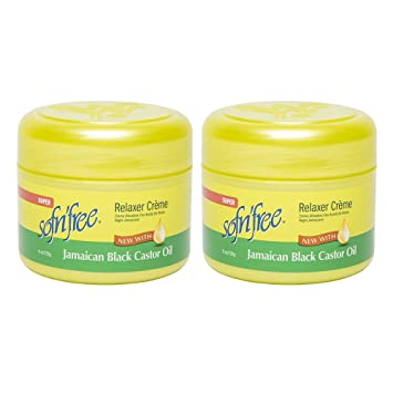 SofnFree Jamaican Black Castor Oil Cream Relaxer Regular 250ml (pack of ...