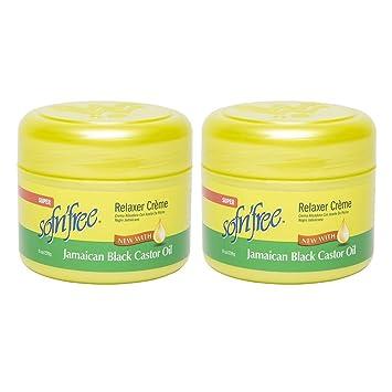 SofnFree Jamaican Black Castor Oil Cream Relaxer Regular 250ml (pack of ...