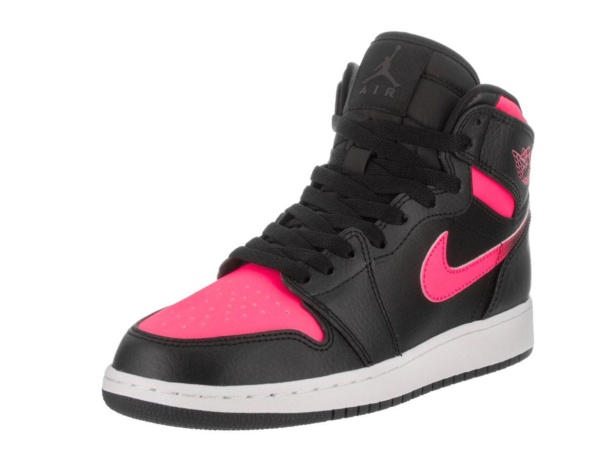 564f1fd9a2ad Amazon.com  Jordan Nike Kids Air 1 Retro High Gg Black Black Hyper Pink White  Basketball Shoe 7.5 Kids US  Sports   Outdoors