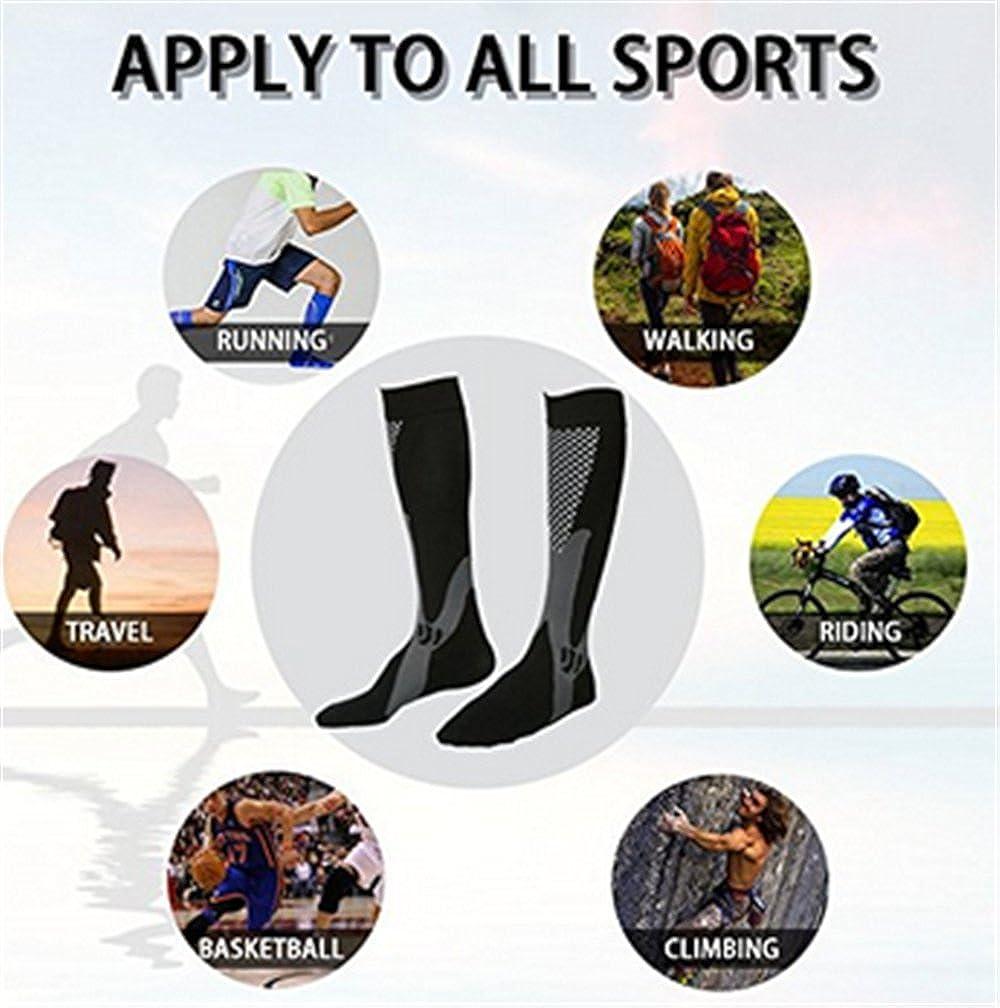CHUN Compression Men Socks Athletic Socks 4-Pairs Healthy Running Walking Football L//XL Nurses Socks for Women Man