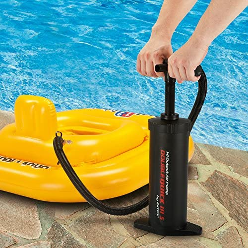 Details about  /Summer Waves Quick Set 300 Hand Pump Pool Inflatables Double Action Adaptors