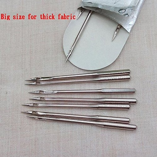 10PCS /PACK/SIZE ORGAN FLAT SHANK 15X1 HAX1 130/705H SIZE 8,11,12,14,16,18,21,22 FOR CHOOSE HOME SEWING MACHINE NEEDLES BROTHER SINGER (22)