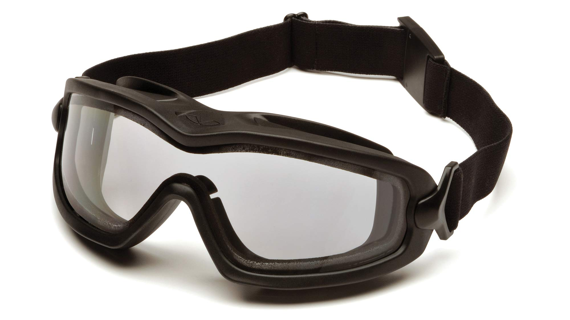 Pyramex GB6410SDT V2G-Plus Goggle with Anti-Fog Lens, Black, (Pack of 12) by Pyramex Safety (Image #1)