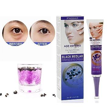 Crema Contorno De Ojos,Contorno de Ojos Antiarrugas,Crema hidratante para contorno de ojos,Combate las arrugas, las patas de gallo, las bolsas, las ...