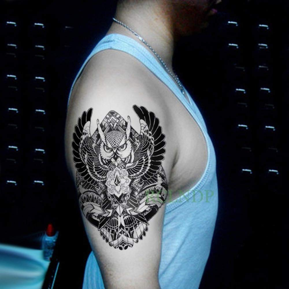 Handaxian 3 Piezas Etiqueta engomada del Tatuaje a Prueba de Agua ...