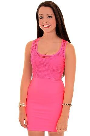 Fantasia - Damen Party Kleid Promi Inspiriert Nicole Träger ...