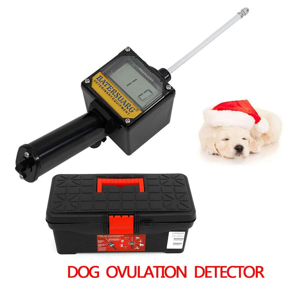 Dog Ovulation Detector Tester Pregnancy Planning Breeder for Dogs Canine Mating Detecting Testing Machine Time Saving Money Reducing+ Case (US Stock) by SHZICMY
