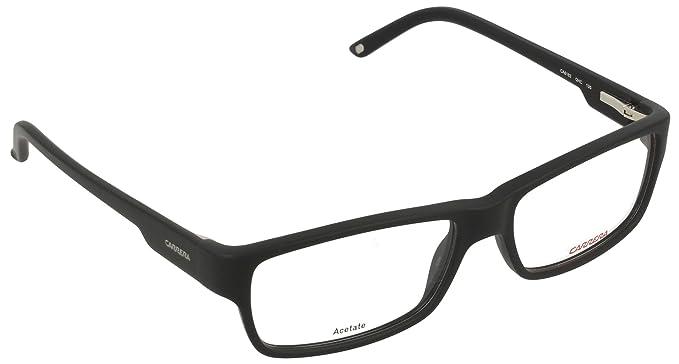 8852cb576e Carrera CA6183 Medium (Size-54) Matte Black QHC Unisex Eyeglasses ...