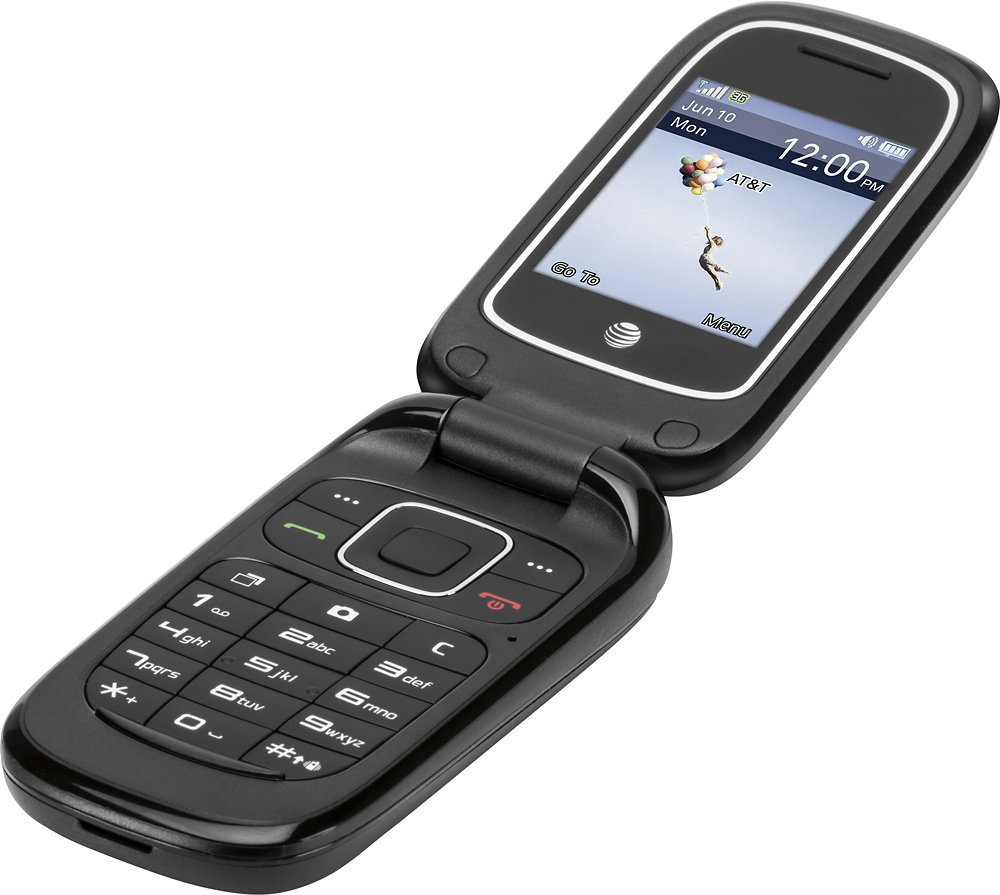 ZTE Z223 3G GSM Unlocked Flip Phone (at&t) with Camera (Not CDMA Carriers Like Sprint Verizon Boost Mobile Virgin Mobile) by ZTE Z223 (Image #1)