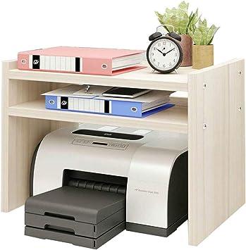 Qifengshop Soporte de la Impresora Escritorio Estante de la ...