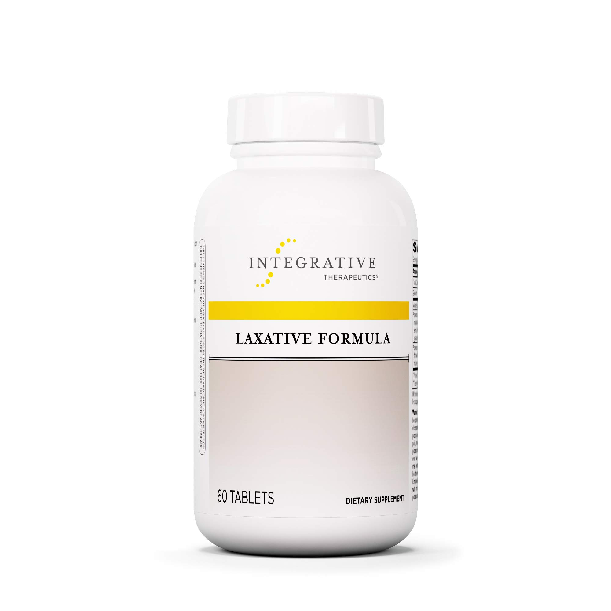 Integrative Therapeutics - Laxative Formula - Promotes Bowel Function Without Stimulant Laxatives - 60 Tablets