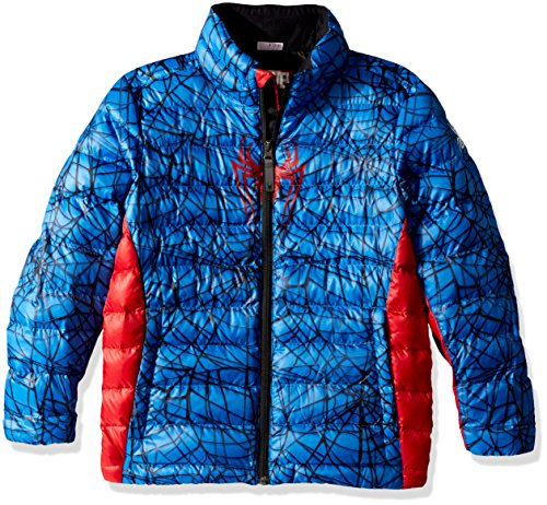 Blue Coat Spyder Spiderman Boy's Prymo Sports Marvel Active French Outerwear x81qr8TpwY