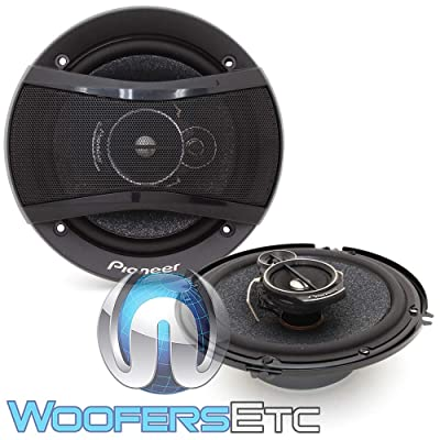 """Pioneer TS-A1676S 6.5"""" 320W 3-Way Coaxial Speakers System: Home Audio & Theater"""