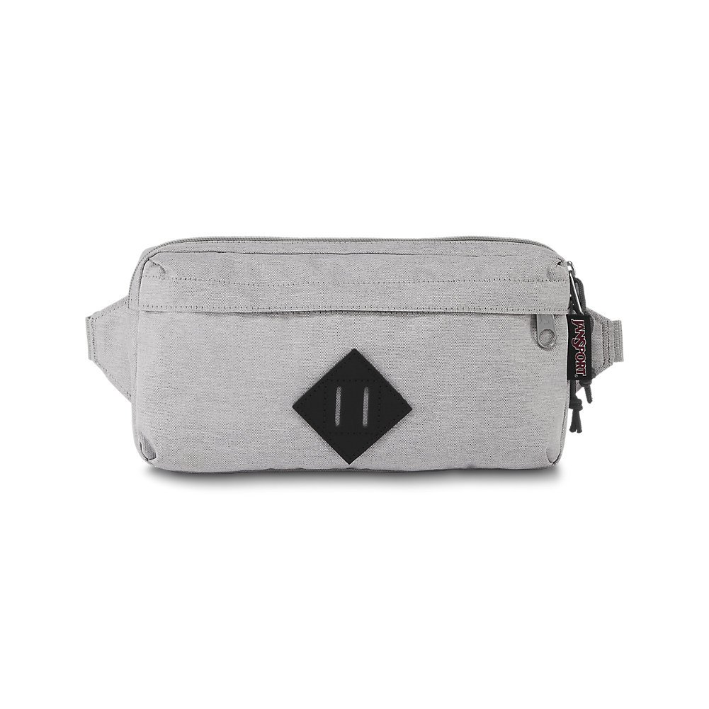 JanSport Waisted Fanny Pack - Grey Heathered Poly - Adjustable