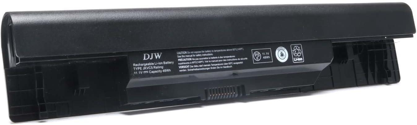DJW 11.1V 48WH Laptop JKVC5 Battery for dell inspiron 1564;dell inspiron 1764;dell inspiron 1464;dell inspiron 15 (1564);dell inspiron 14 (1464);dell inspiron 17 (1764);fit JKVC5 FH4HR P08F P07E