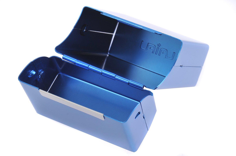 417-05 DE Mod Quantum Abacus Zigarettenetui aus Aluminium f/ür 18 Zigaretten ohne Schachtel