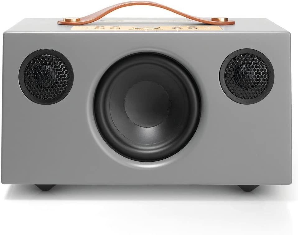 Audio Pro Addon C5A with Alexa built-in, Wireless, Bluetooth, Smart Speaker with Multi-room – Grey