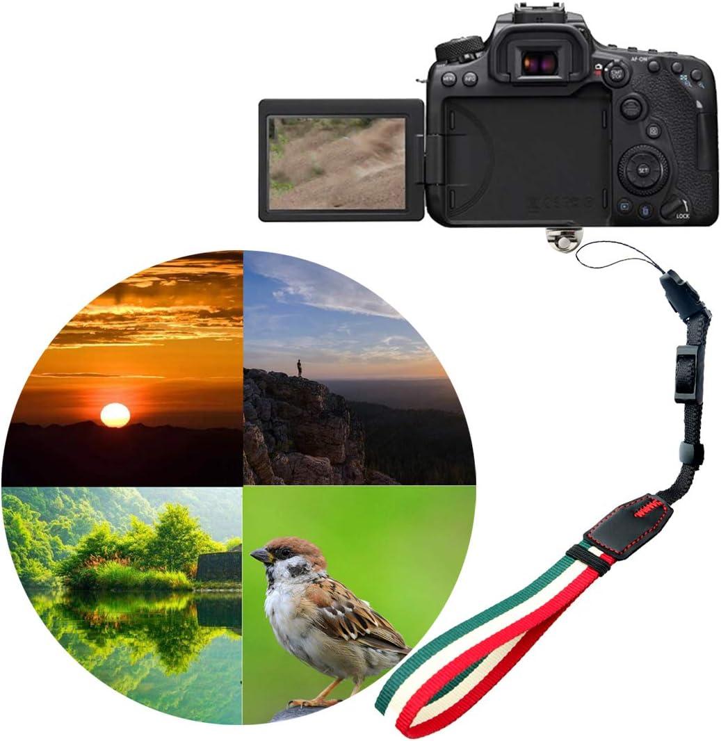XINJUE is Suitable for Canon Nikon Sony NEX7 NEX6 NEX5T Fujifilm X100S X30 X70 E-M10 II Cuff Camera Wrist Strap//Wrist Strap stabilizer F A7RII A6300 a5000 a6000 a5100
