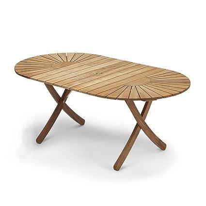 Skagerak Selandia - Table de Jardin Extensible, Teck Longueur : de ...