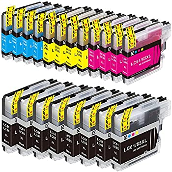 E-Z Ink (TM) Compatible Ink Cartridge Replacement for Brother LC-61 LC61 Series (8 Black, 4 Cyan, 4 Magenta, 4 Yellow) 20 Pack LC61BK LC61C LC61M LC61Y