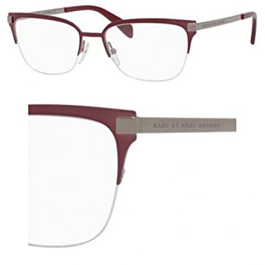 f4ade7ae44 Image Unavailable. Image not available for. Color  Marc By Marc Jacobs MMJ  658 0MV1 Shiny Red Eyeglasses